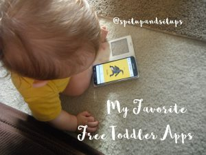 My Favorite Free Apps for my Toddler