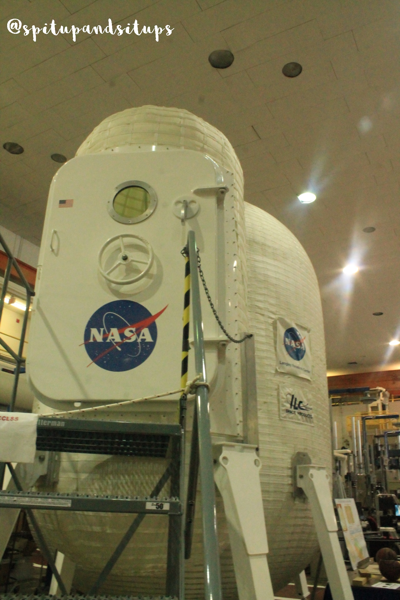 Inflatable Habitat at Langley Research Center
