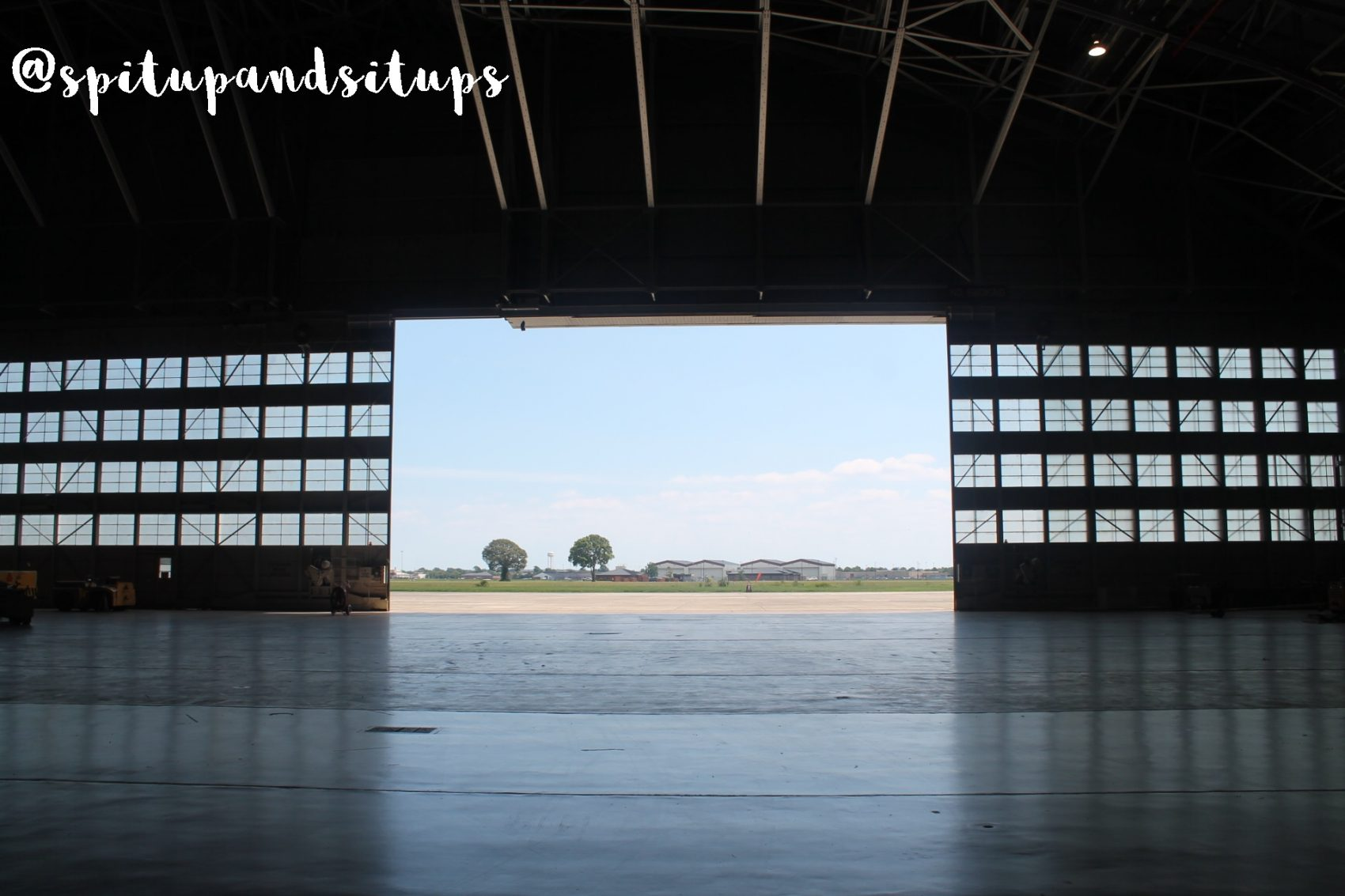 Langley Research Center Hangar View