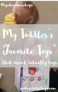 My Toddler's Top Five Favorite Toys