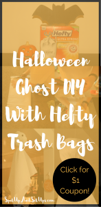 Easy Halloween Ghost DIY with Hefty