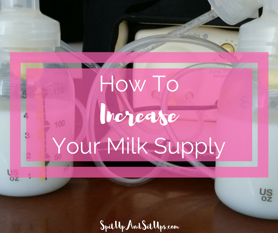 how to get milk supply up when pumping