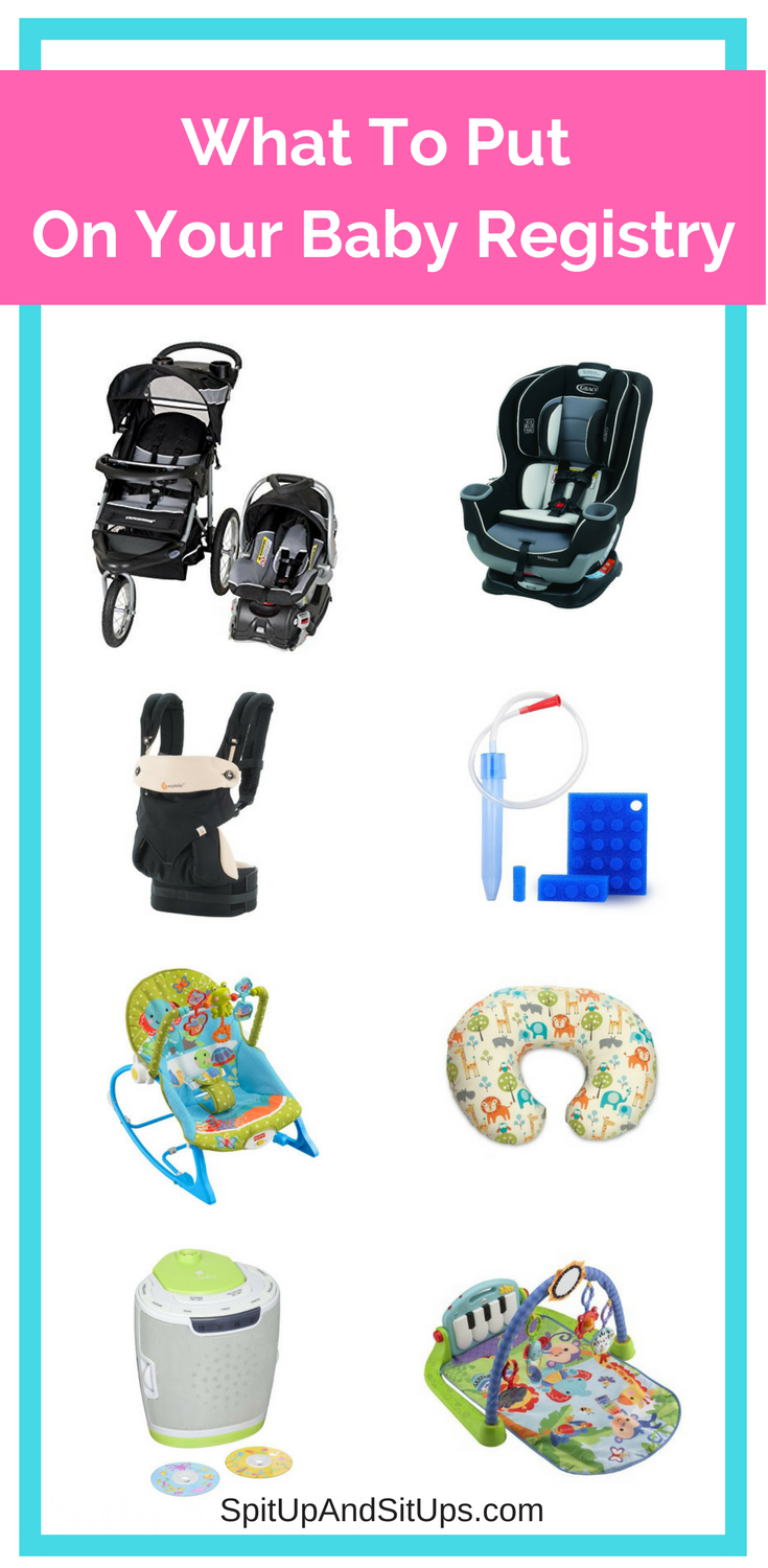 What To Put On Your Baby Registry, things you need on your baby registry, what to register for, what to register for baby, baby advice, new mom advice, advice for new moms