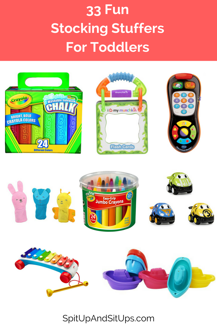 Holiday Gift Guide: Stocking Stuffers For Toddlers