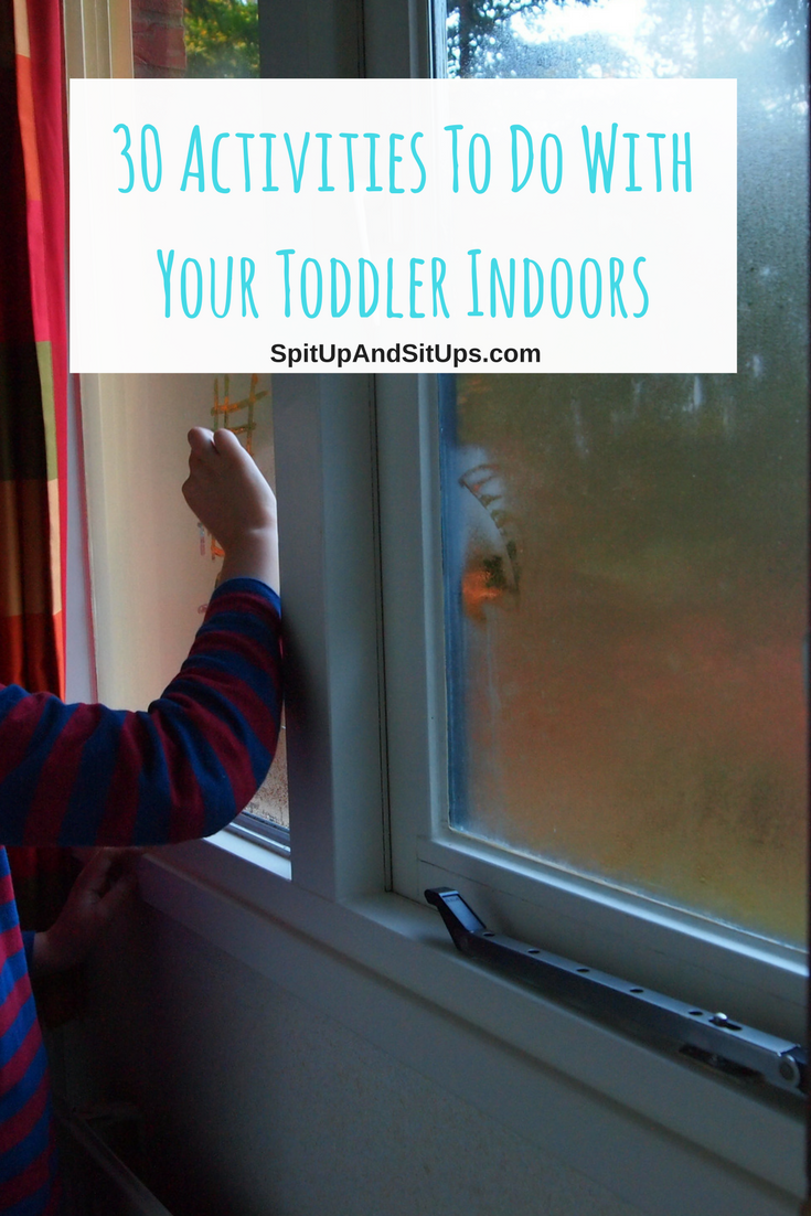 indoor activities with a toddler
