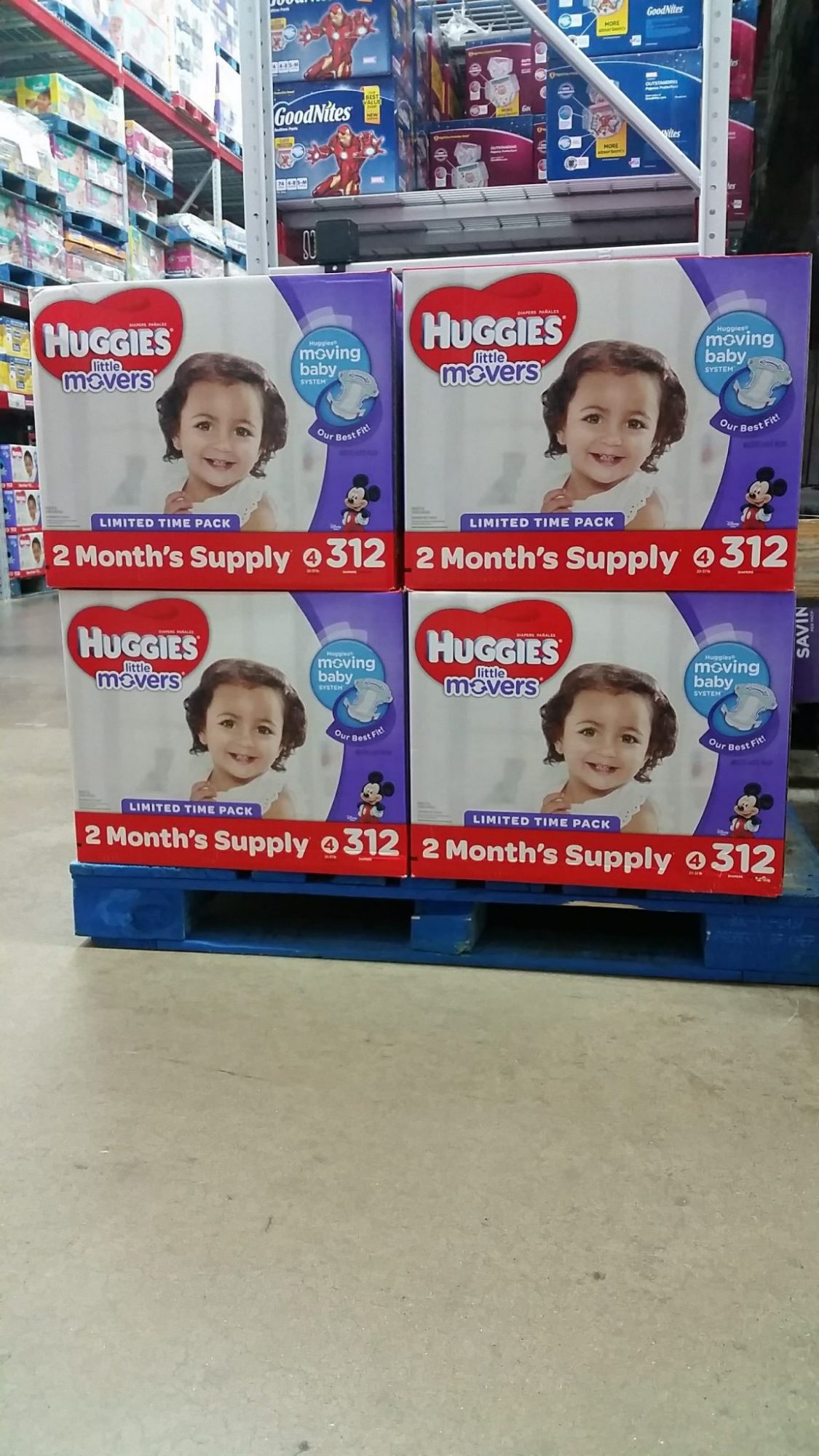 How To Save On Diapers With Sam's Club