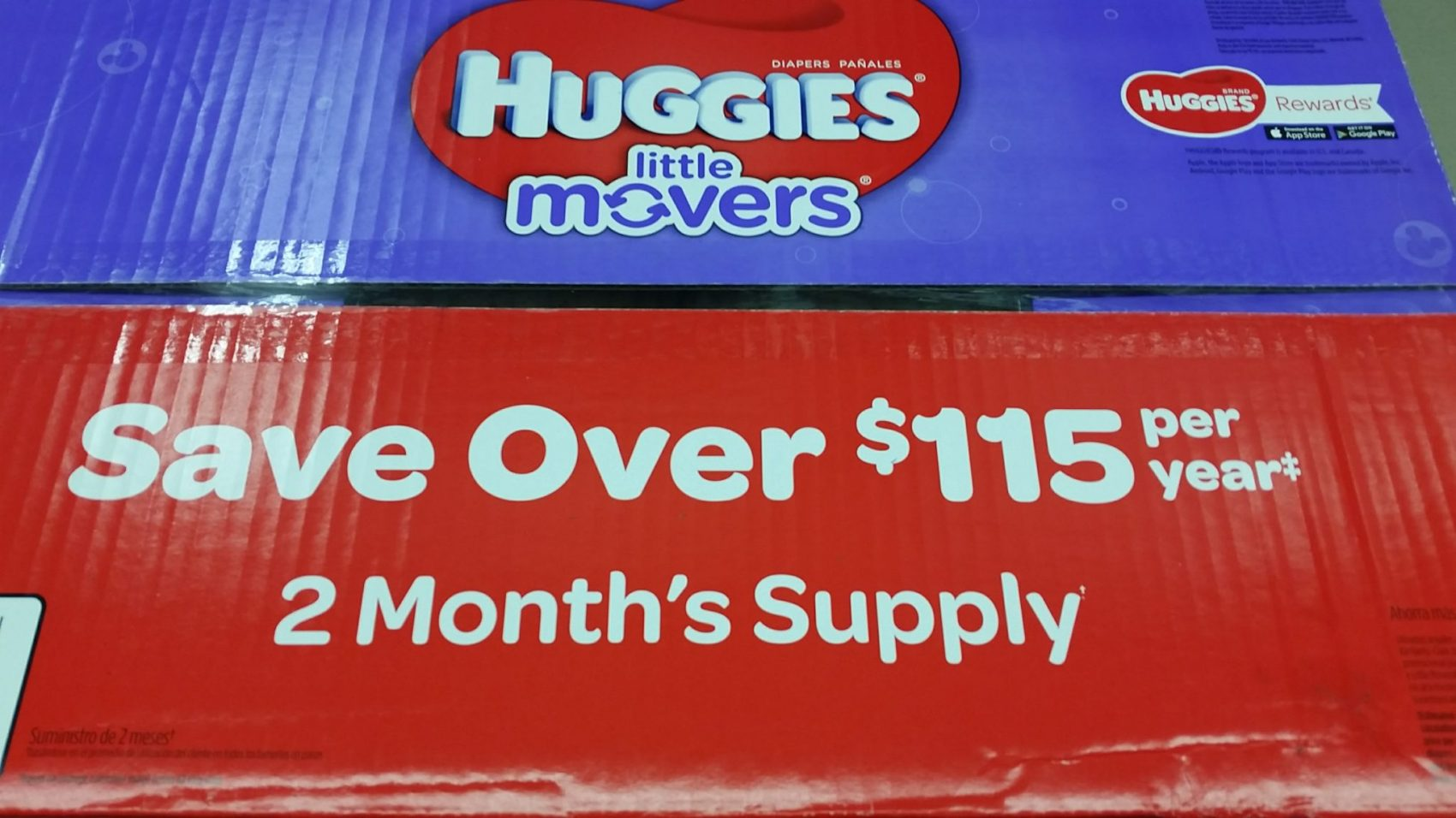 #SPONSORED #BIGGESTPACKEVER, How to save on diapers with Sam's Club, Biggest pack ever, huggies little movers, sam's club, saving at sam's club, diapers at sam's club, how to save on diapers, deals on diapers
