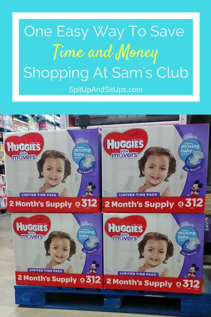 How to save on diapers with Sam's Club, #SPONSORED #BIGGESTPACKEVER, Biggest pack ever, huggies little movers, sam's club, saving at sam's club, diapers at sam's club, how to save on diapers, deals on diapers
