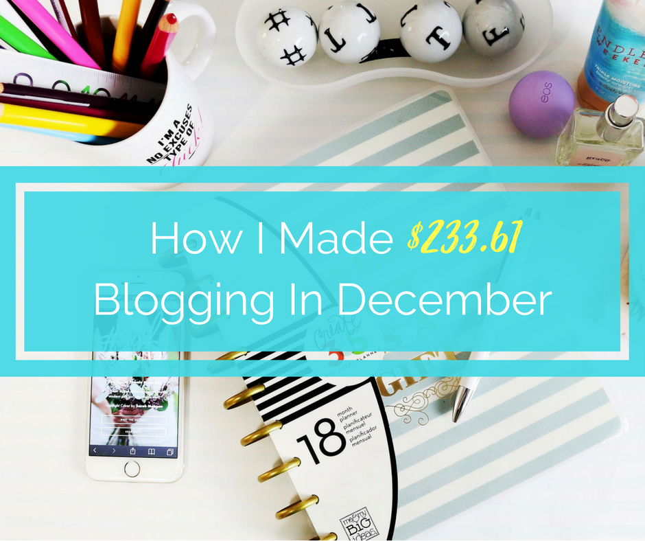 income report december, blog update, spit up and sit ups income report, income report for new bloggers
