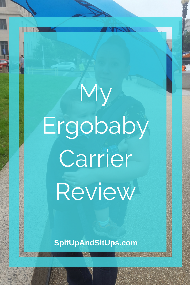 ergobaby review, ergobaby carrier review, which carrier should i buy, best baby carrier, babywearing for new moms, how to babywear