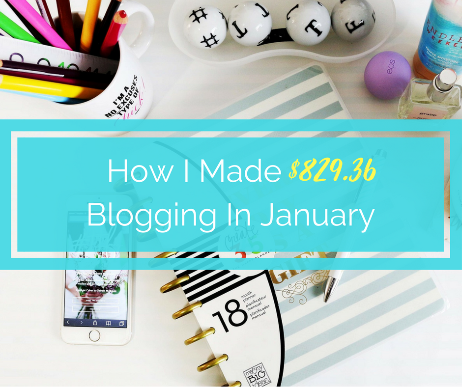 january blog update and income report, income report for january, how to start a blog, how to make money blogging