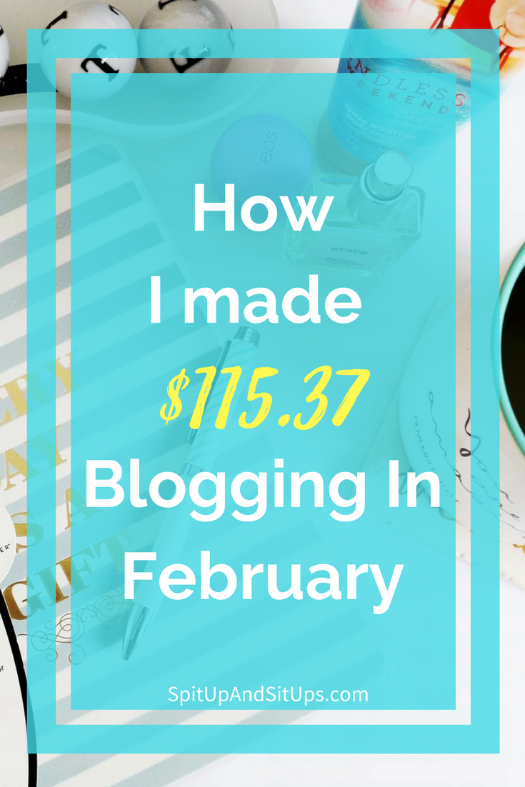 february blog update and income report, income report for february, make money online, how to start a blog, how to make money blogging