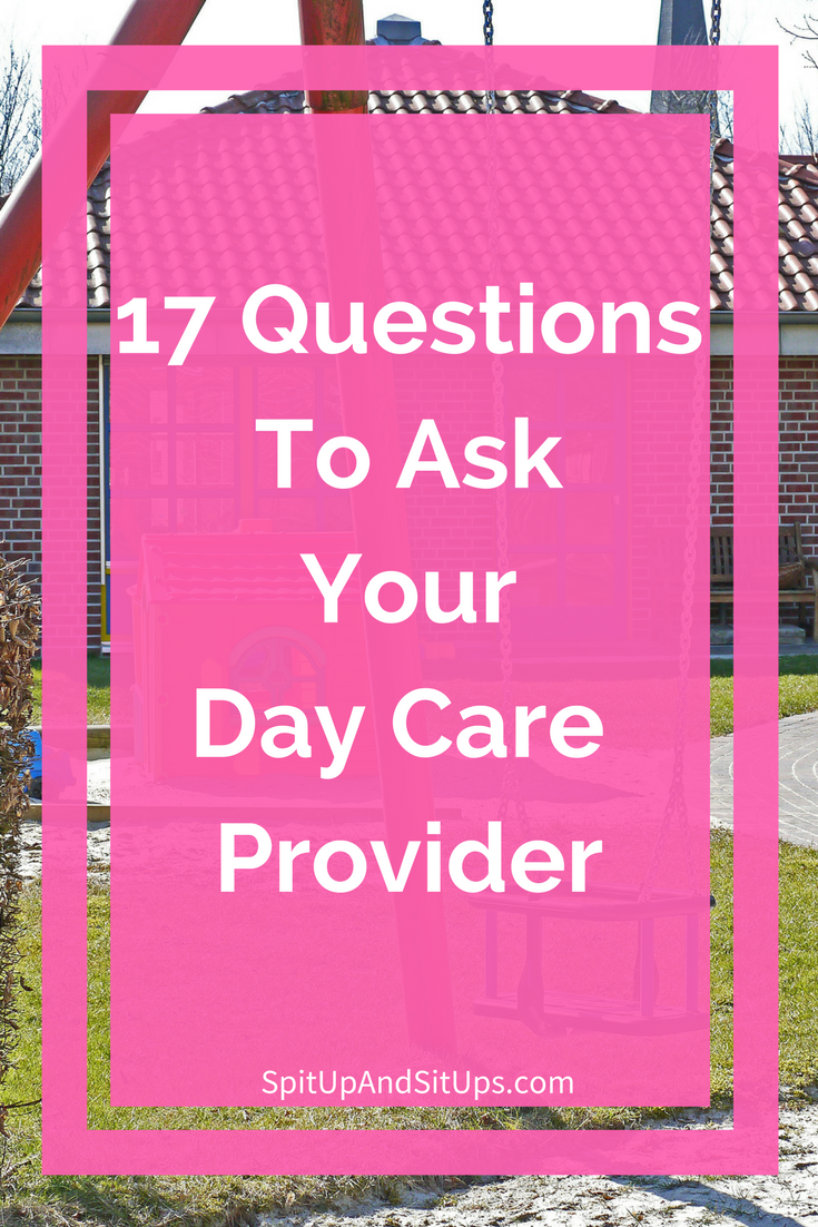an interview with a daycare provider Part 4: how to find daycare clients -interview with care august 21 this site is designed to help new and experienced child care providers.