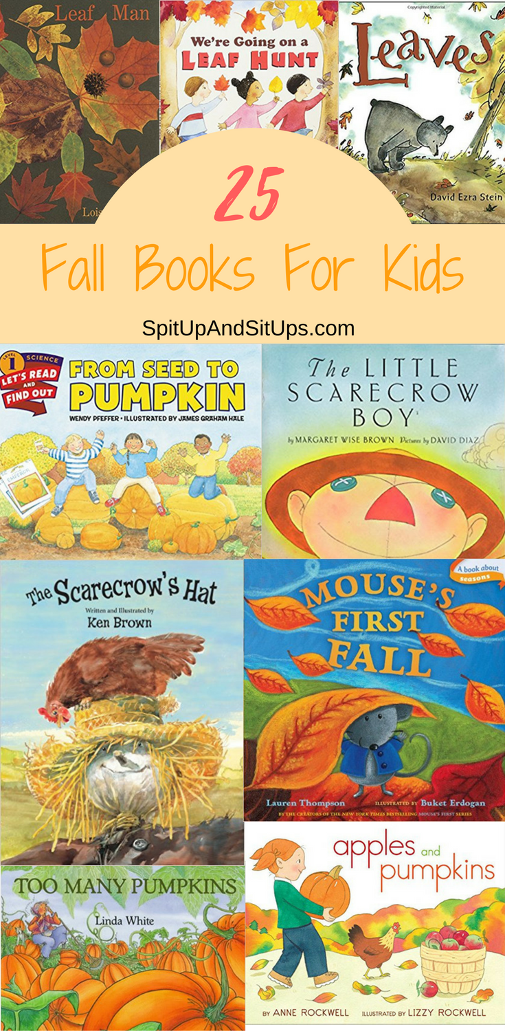 25 Fall Books For Kids