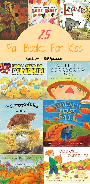 25 Fall Books For Kids
