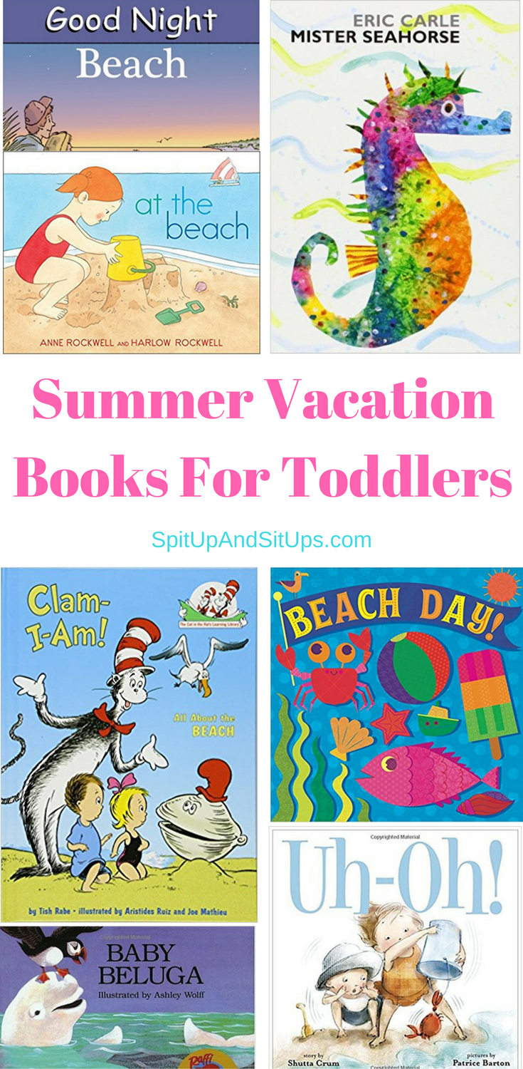 Summer Vacation Books For Toddlers Fun Reading