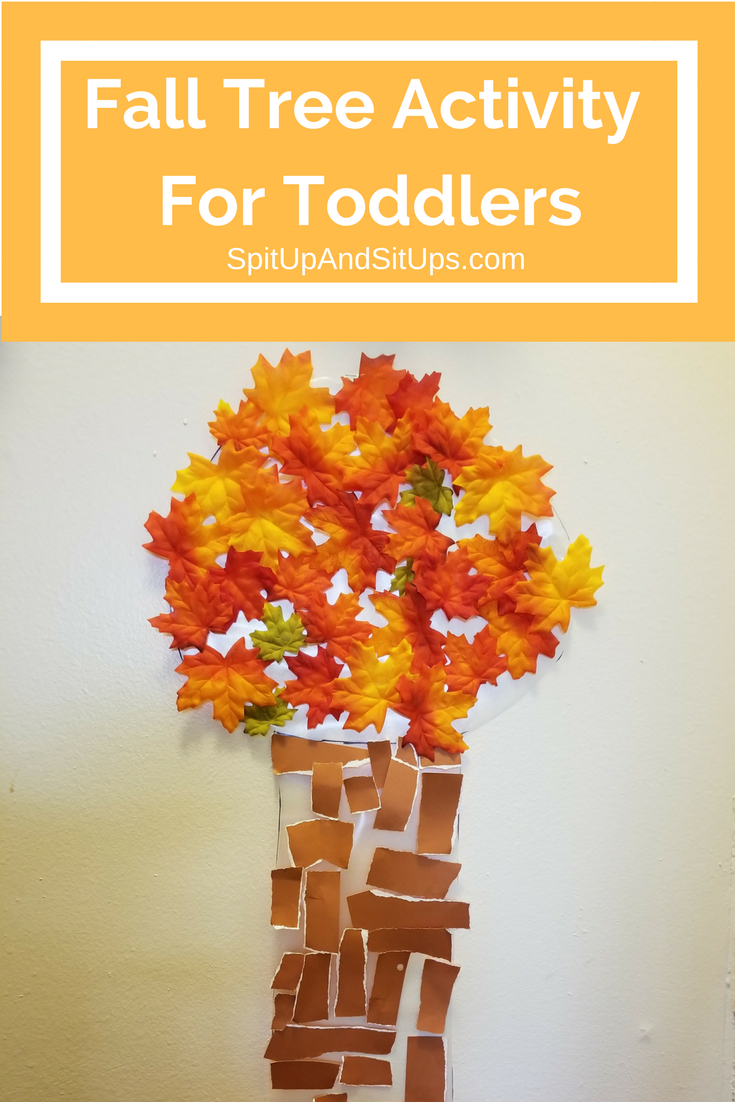 fall tree activity for toddlers