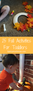 25 fall activities for toddlers | Spit Up and Sit Ups
