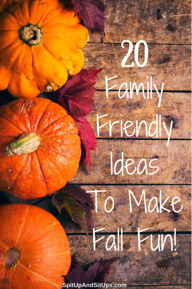 family friendly ideas to make fall fun