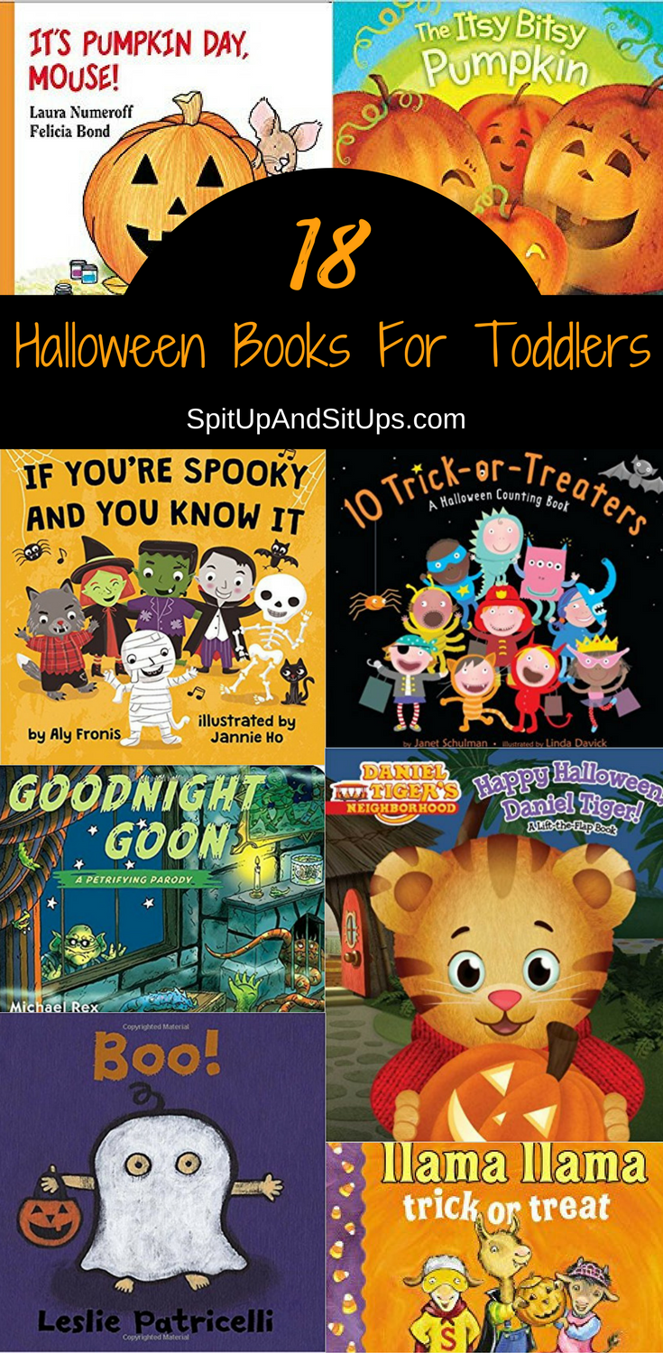 Halloween Books For Toddlers - Spit Up And Sit Ups