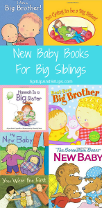 The Best New Baby Books For Big Siblings