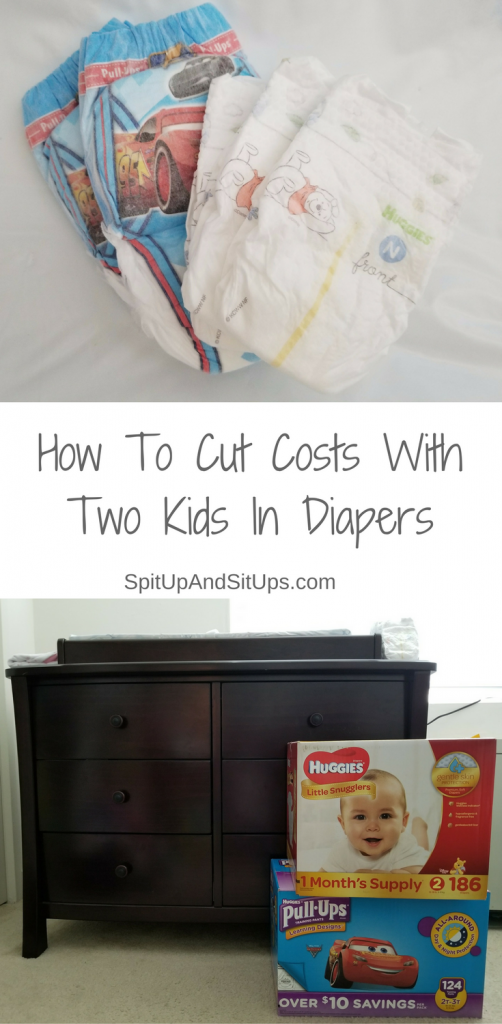 how to cut costs with two kids in diapers