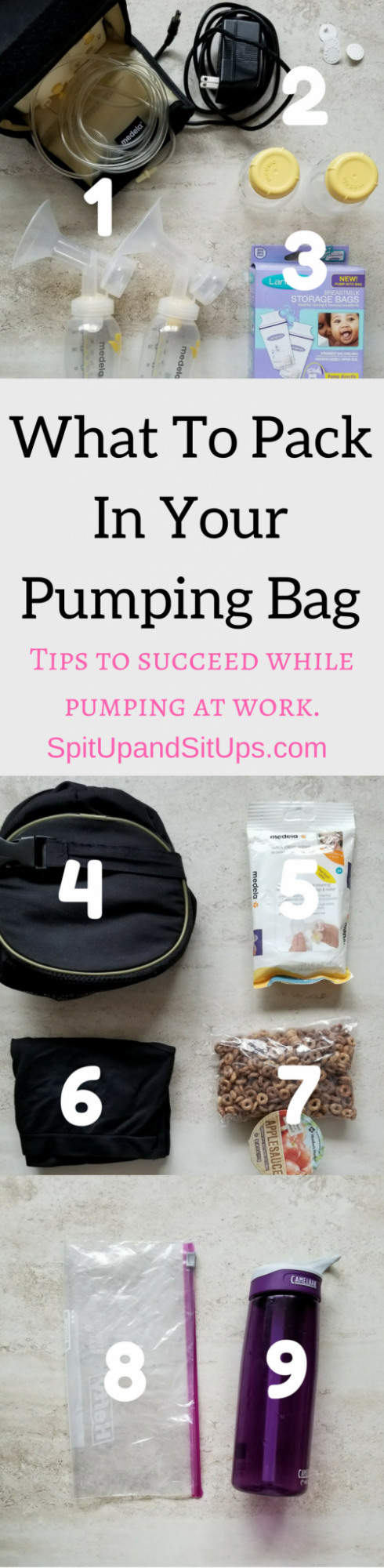 What To Pack In Your Pumping Bag