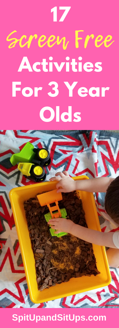 17 Screen Free Activities For Three Year Olds