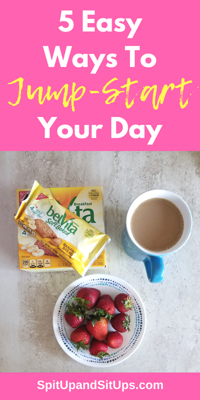 5 Easy Ways To Jump-Start Your Day #belvitabacktoroutine #mornings #collectivebias  Here are my 5 easy and actionable tips for starting your day off on the right foot! These 5 steps will not take more than 10 minutes a day and are easy to add in if you have children!