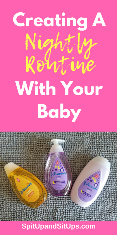 Creating A Nightly Routine With Your Baby