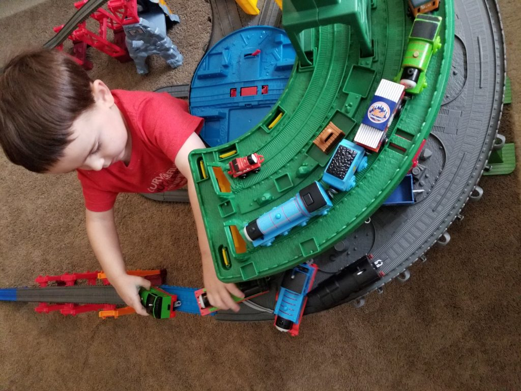 Thomas & Friends Super Station at Walmart