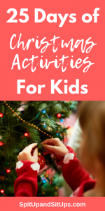 25 Days of Christmas Activities, Recipes and Crafts for Kids