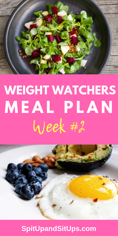 Weight Watchers Meal Plan Week 2