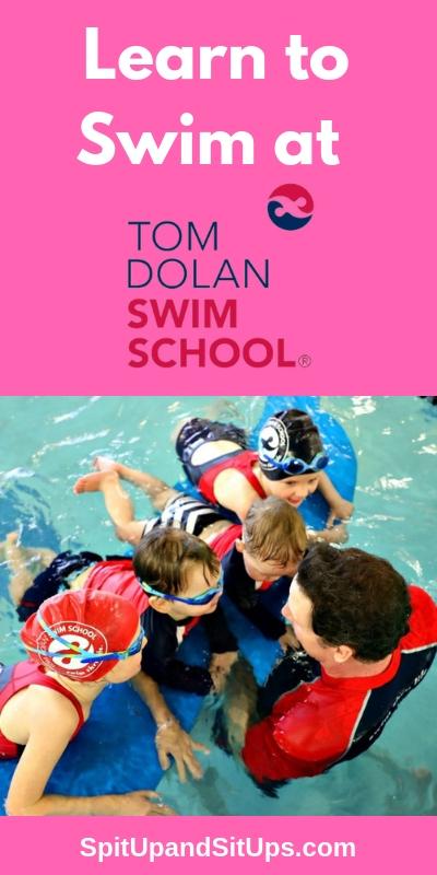 Learn to Swim at Tom Dolan Swim School