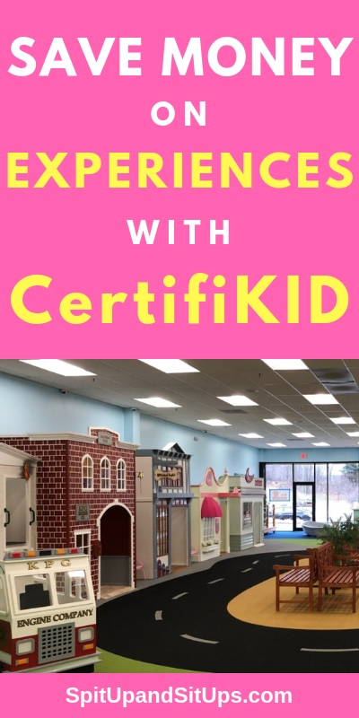Save Money on Experiences with CertifiKID | Spit Up and Sit Ups