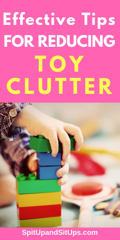 Effective Tips for Reducing the Toy Clutter
