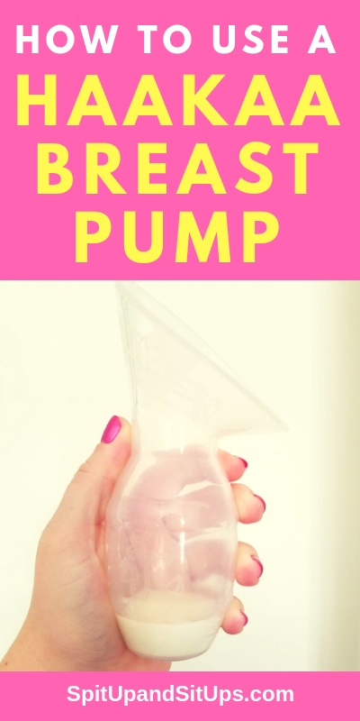 How to Use A Haakaa Breast Pump