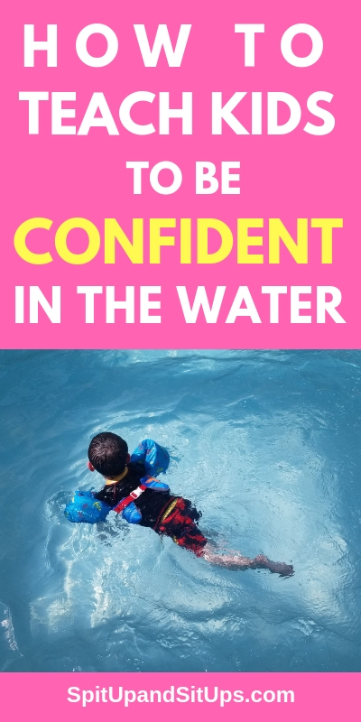 How to Teach kids to be confident in the water SwimWays International Learn to Swim Day