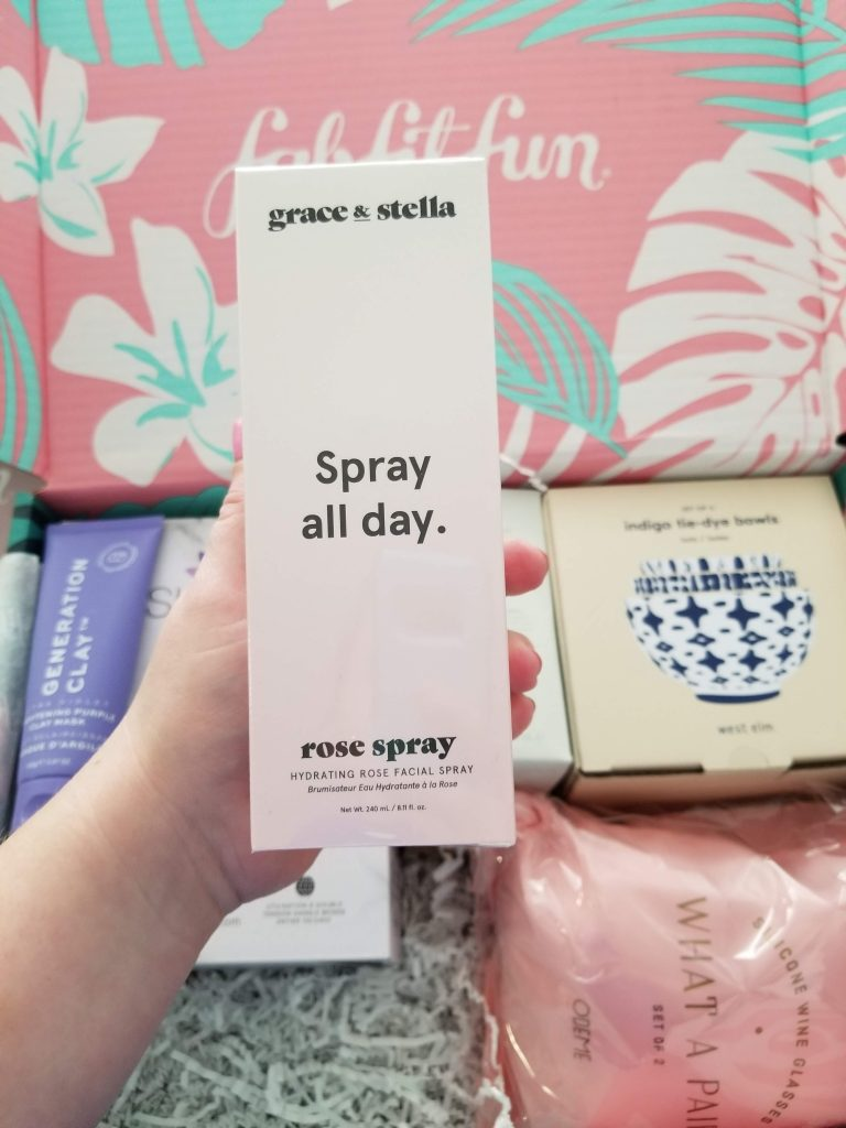 grace & stella rose facial spray