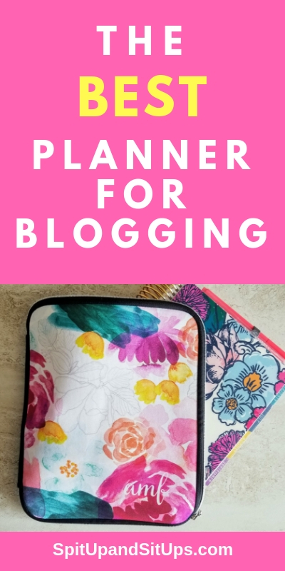 the best planner for blogging