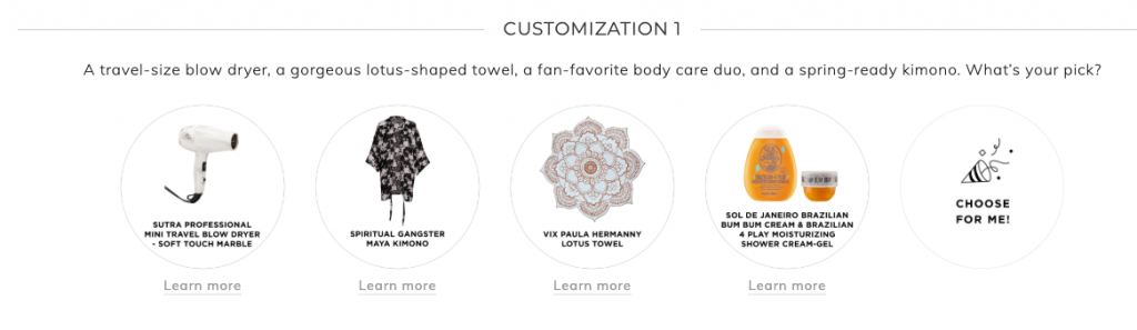 Fabfitfun Summer 2019 customization 1