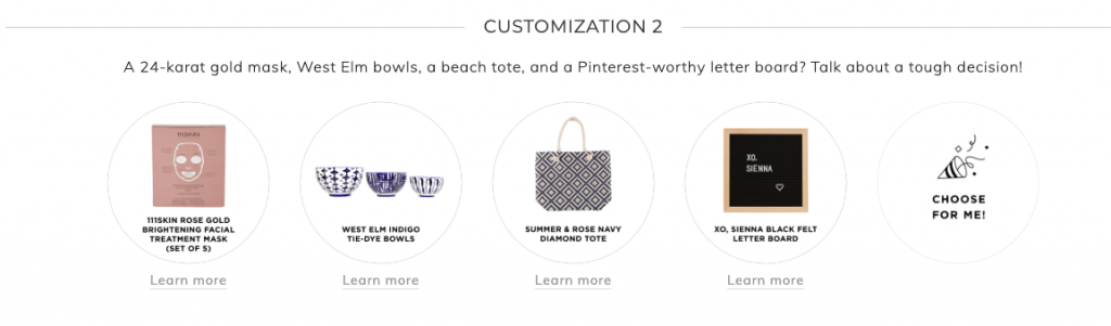 Fabfitfun Summer 2019 customization 2
