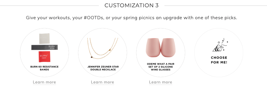 Fabfitfun Summer 2019 customization 3