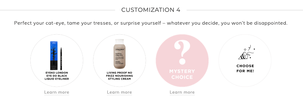 Fabfitfun Summer 2019 customization 4