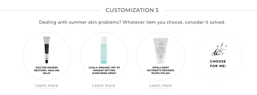 Fabfitfun Summer 2019 customization 5