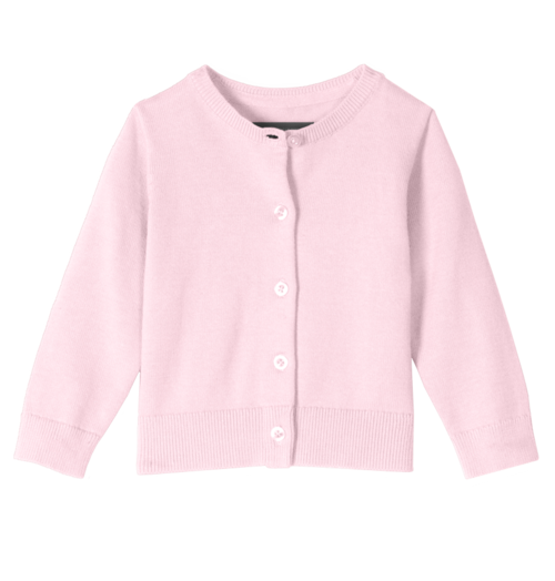 Pink Baby Cardi Primary