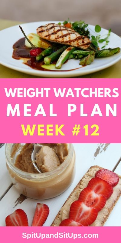 Weight Watchers Meal Plan #12