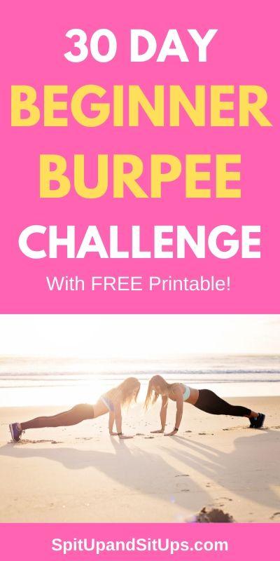 30 day beginner burpee challenge