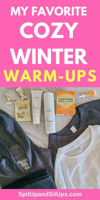 my favorite cozy winter warm-ups ad via babbleboxx