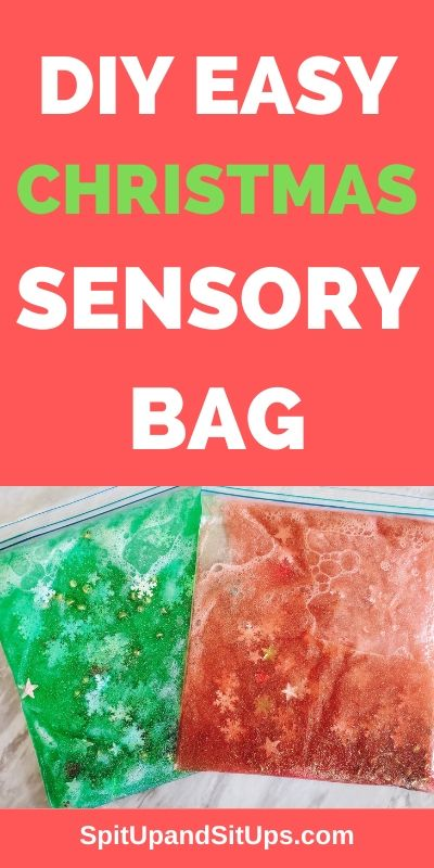 DIY Easy Christmas Sensory Bag